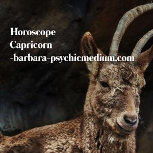 Capricorn Free Horoscope 2020 - Barbara's Psychic Mediums